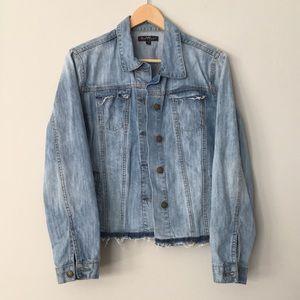 Velvet Heart destroyed denim jacket